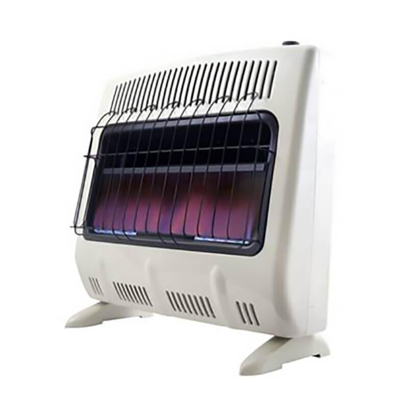 Heatstar 30 000 Btu Blue Flame Vent Free Heater W