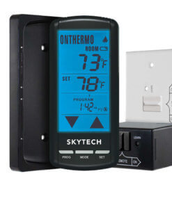 Skytech Fireplace Remote 5301P On/Off w/Programmable Thermostat