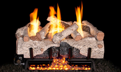 RH Peterson Charred Alpine Birch Vent Free Gas Logs