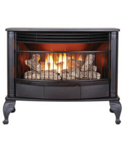 Sapphire Valley Hearth Gas Log Heater